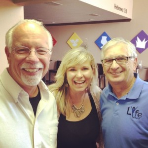 Kim Pitner, Sue, and David Coffey of the MidSouth District of The Foursquare Church